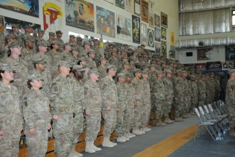 The 17th Sustainment Brigade completes Middle East mission