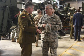 Pennsylvania National Guard advances state partnership with Lithuania