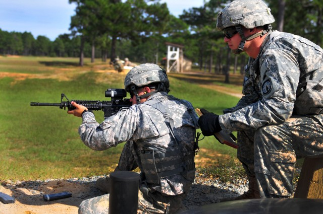 16th Military Police Brigade Conducts Range Qualification