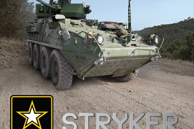 The first prototype Stryker Infantry Carrier Vehicle outfitted with a 30mm cannon was delivered Thursday to the Army.