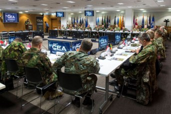 Senior land forces commanders discuss opportunities, challenges within Europe