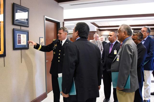 RMI delegation visits SMDC