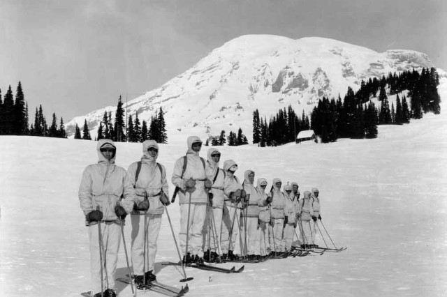 Colorado National Guard Wwii Vets Mark Mountain Division
