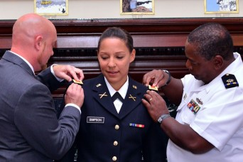 New Hampshire Guard member is first woman to graduate Army's infantry officer basic course