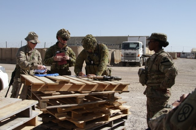 U.S. Army provides $5.5 million of equipment to ISF