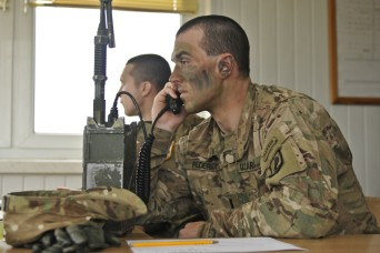 173rd Airborne Brigade aims for accuracy during a live-fire range exercise