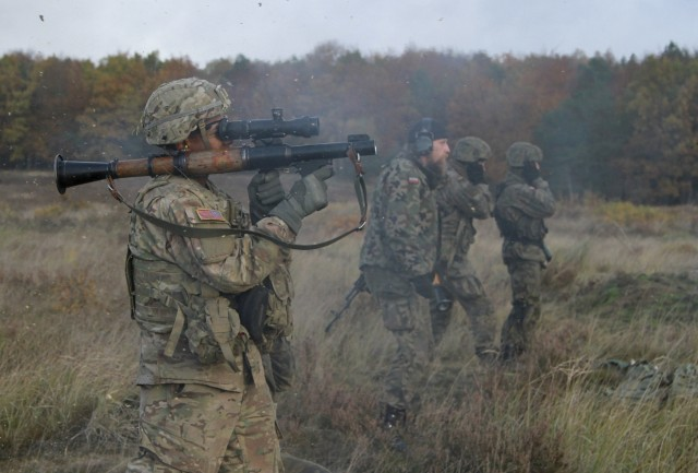 US, Polish forces conduct anti-tank cross-training