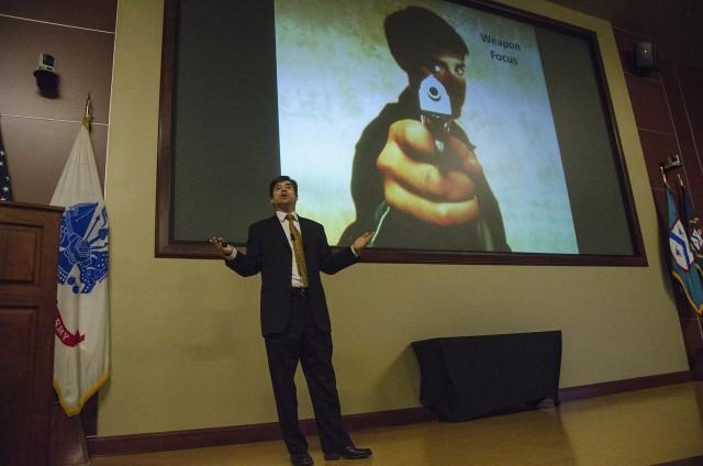 Dr. James Hopper at SHARP Professional Forum 1