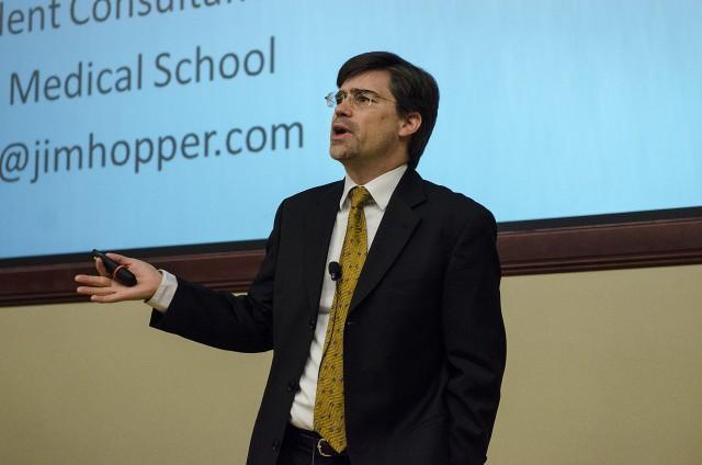 Dr. James Hopper at SHARP Professional Forum 2