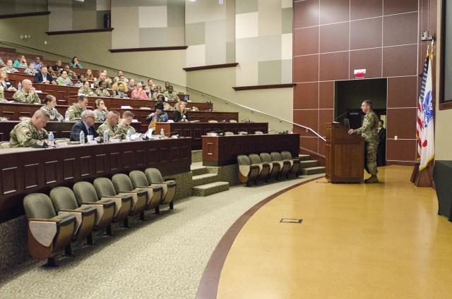 Col. Geoffrey Catlett at SHARP Professional Forum 1