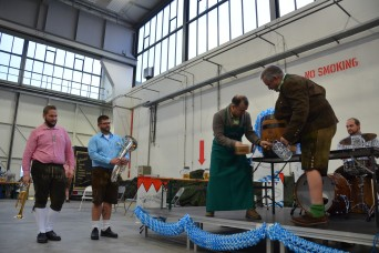 Soldiers at Storck celebrate Oktoberfest with help of Ansbach private orgs