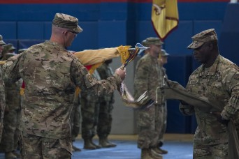 "New York National Guard's ""Harlem Hell Fighters"" assume command of Middle East mission"