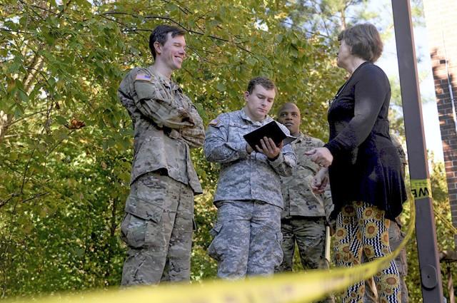 """Warrior Diplomats"" Solve Problems, Help Communities"