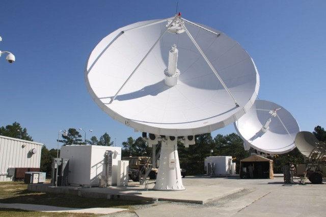 The Army completed major upgrades to the last of its five Regional Hub Nodes (RHNs), such as the one seen here in the CONUS East area of responsibility, significantly improving operational flexibility and setting the stage for new early entry satellite communications capability and network transport convergence efforts.