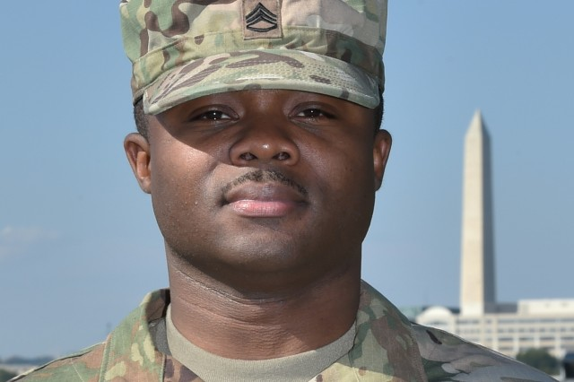 U.S. Army Staff Sgt. Brandon Carroll, a Headland, Ala. native, joined the Joint Task Force - National Capital Region in support of the 58th Presidential Inauguration, which will take place Jan. 20, 2017. The task force is charged with coordinating all military ceremonial support for the inaugural period. As a joint service committee, it includes members from all branches of the armed forces of the United States, including Reserve and National Guard components.