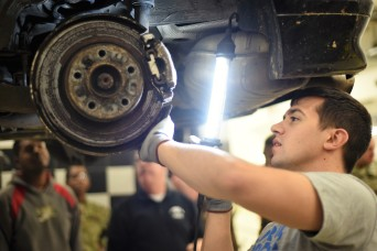 Ansbach Soldiers tackle auto skills in first foray into BOSS Life Skills Program
