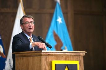 Defense Secretary Carter announces new recruiting, ROTC efforts