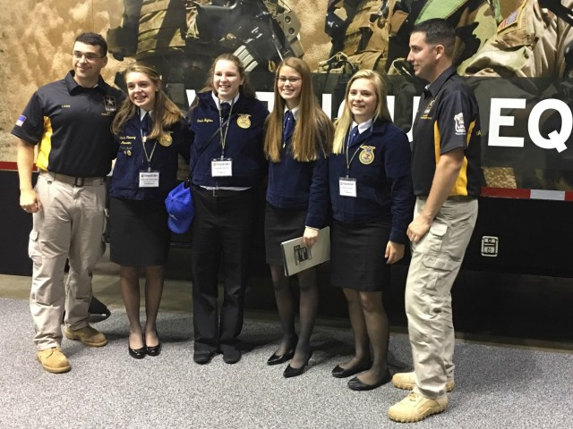 USAMU Olympians meet, greet at FFA Convention