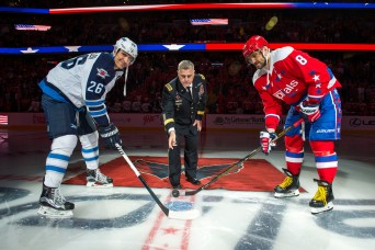 Caps, fans honor Soldiers at Army Appreciation Night