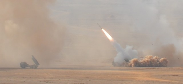 HIMARS Live Fire Exercise