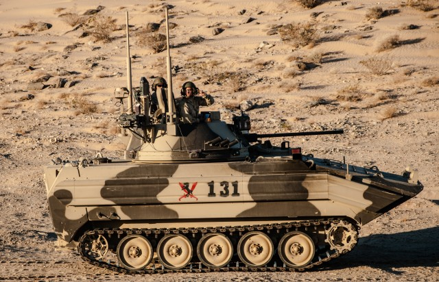 Blackhorse test the defense of the Ready First Brigade