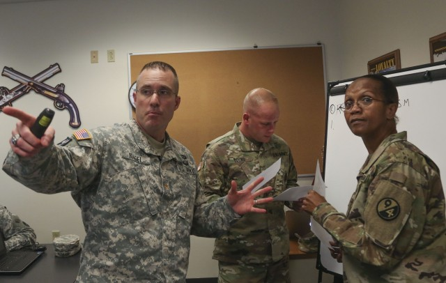 MAJ Nagel Teaches Class at Instructor of the Year Competition