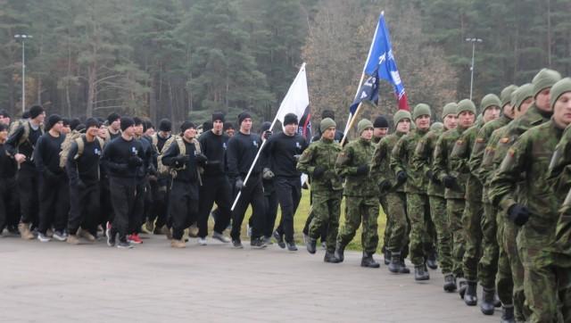 Able Company runs to honor Lithuanian comrades