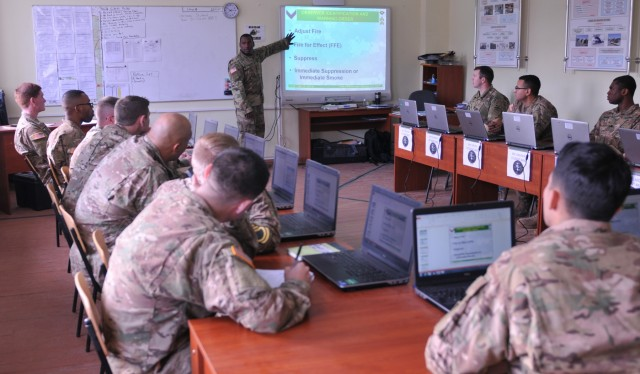 3rd ID Soldiers graduate Basic Leader Course in Ukraine