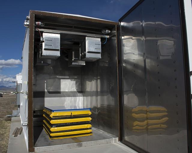 Dugway chamber upgrade