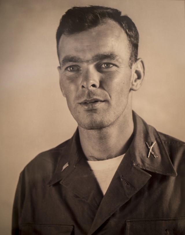 Korea POW 1st Lt. Bill Funchess after release
