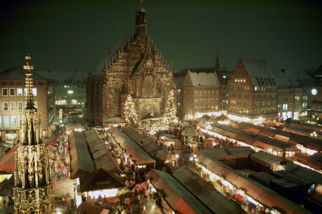One of the most popular Christmas markets in Germany is the Christkindlesmarkt Nürnberg.