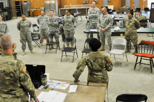 Soldiers with the 228th Theater Tactical Signal Brigade (TTSB) conducted Exercise Palmetto Lightning at the Fountain Inn Armory, Nov. 4-5, 2016, to prepare for future natural disasters that could affect the state. The exercise consisted of seven vehicle recovery teams (VRT) and three liaisons from the 228th TTSB placed at different locations to communicate between the VRTs and the brigade's Tactical Operations Center.  The SCNG liaisons would relay missions to the VRTs and they would react based on the scenario. Scenarios included vehicles needing pulled out of a ditch or removed from the road to allow South Carolina Highway Patrol access to ensure the safety of South Carolinians.