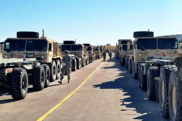 Fort Carson Armored Brigade Begins Movement Of Equipment