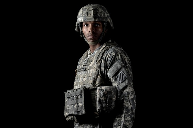 Sgt. Lamonte J.D. McNutt, a multichannel transmission system operator-maintainer with 3rd Infantry Division, tells his story about his childhood experiences in Chicago, and the reason he chose to join the U.S. Army.