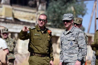 Partnership benefits National Guard, Israel's Home Front Command