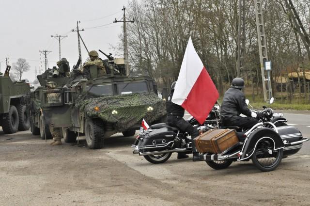 173rd Airborne Brigade celebrates Polish holiday alongside Veterans' Day