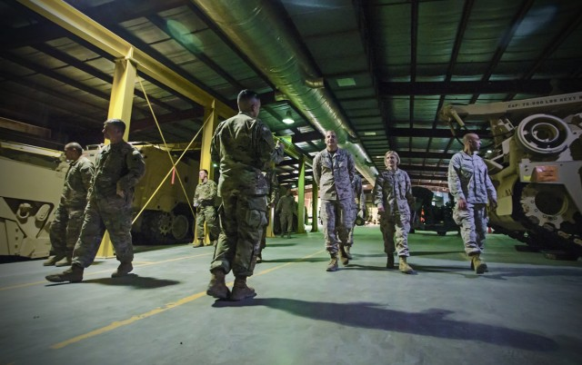 Joint logistics and partnership discussed during APS-5 tour