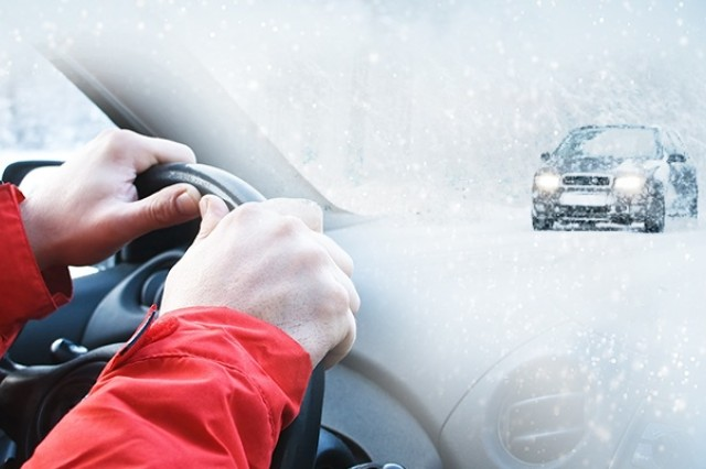 Winter defensive driving is more than just maintaining control on snowy, icy roads. It begins long before you get into your car, buckle your seat belt or start your engine. USACRC graphic design