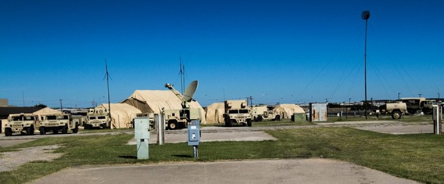 Tactical Operations Center at Fort Hood
