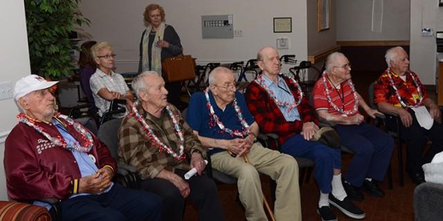 Dugway Soldiers visit veterans in Tooele