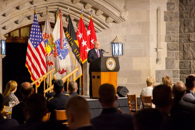 The Corps of Cadets honored the service of retired Gen. Fred Franks Nov. 1 at Washington Hall. Franks celebrated his 80th birthday, and his career came full circle as he bid a Soldier's farewell to the Corps.