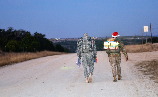 13th Expeditionary Sustainment Command Toy Drive Ruck March