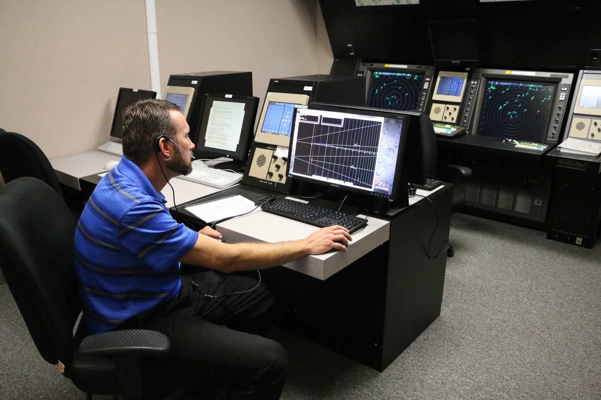 Libby Army Airfield receives new PAR training simulator