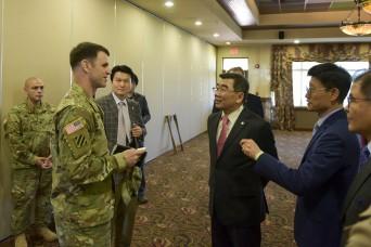 ROK-U.S. Friendship Council meet at Evergreen