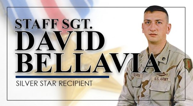 Staff Sgt. David Bellavia, Silver Star recipient.
