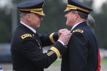 MG Kurt Fuller retires after 35 years of service