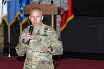 Eighth Army conducts a Transformation Town Hall