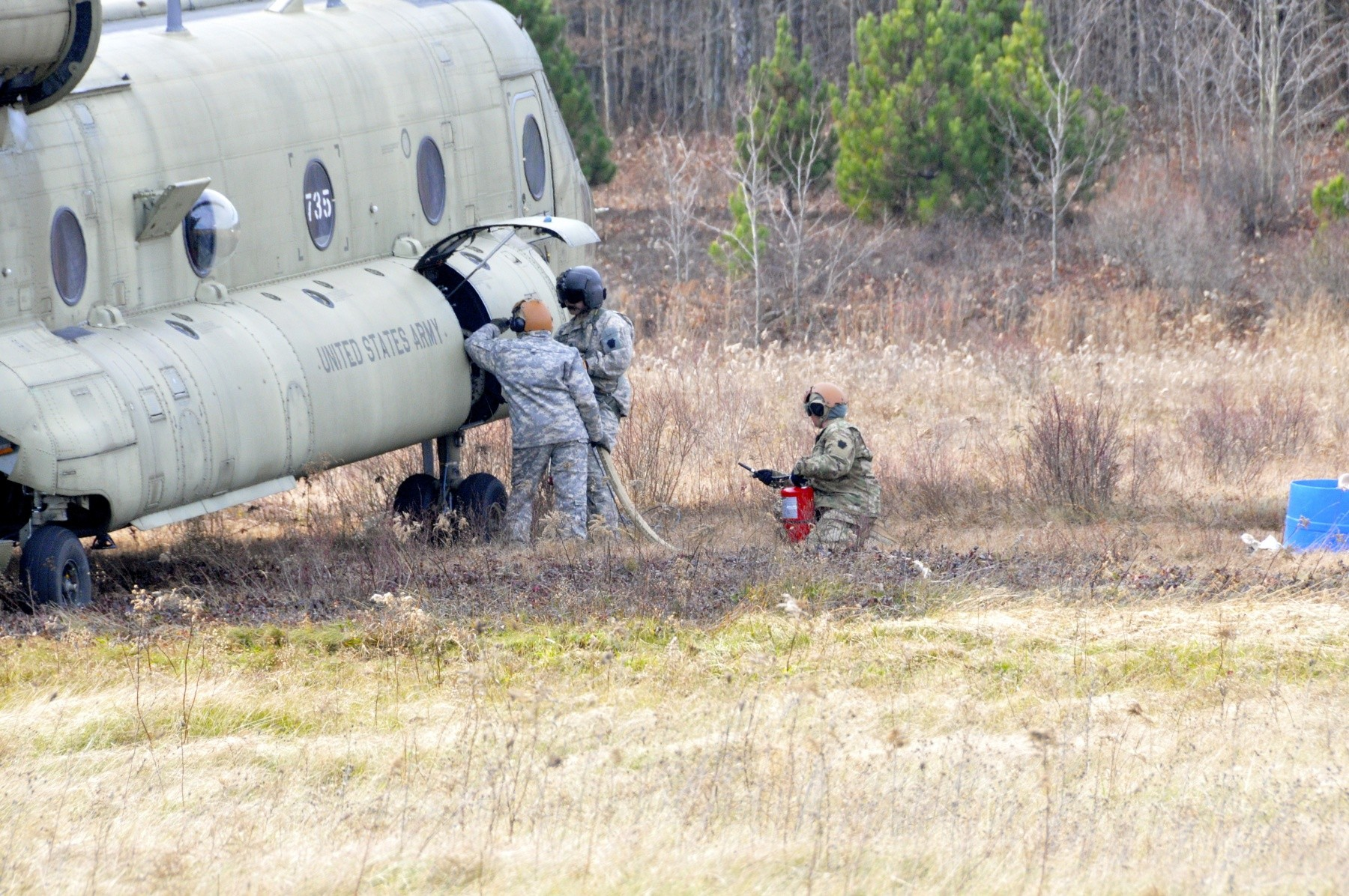 Pennsylvania Army National Guard conduct exercise at Mid-State ...