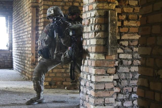 173rd Airborne Brigade leads bi-lateral Urban Operations training