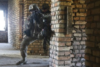 173rd Airborne Brigade leads bi-lateral Urban Operations training